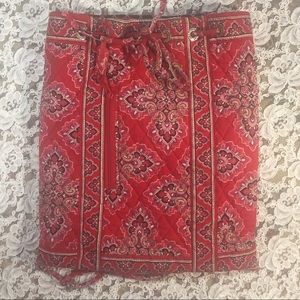 [Vera Bradley] drawstring cinch sack bag backpack
